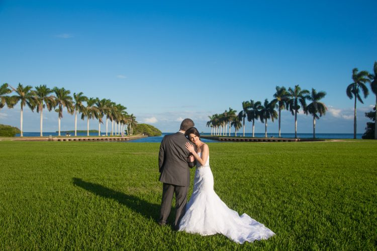 A beautiful wedding we photographed at The Deering Estate