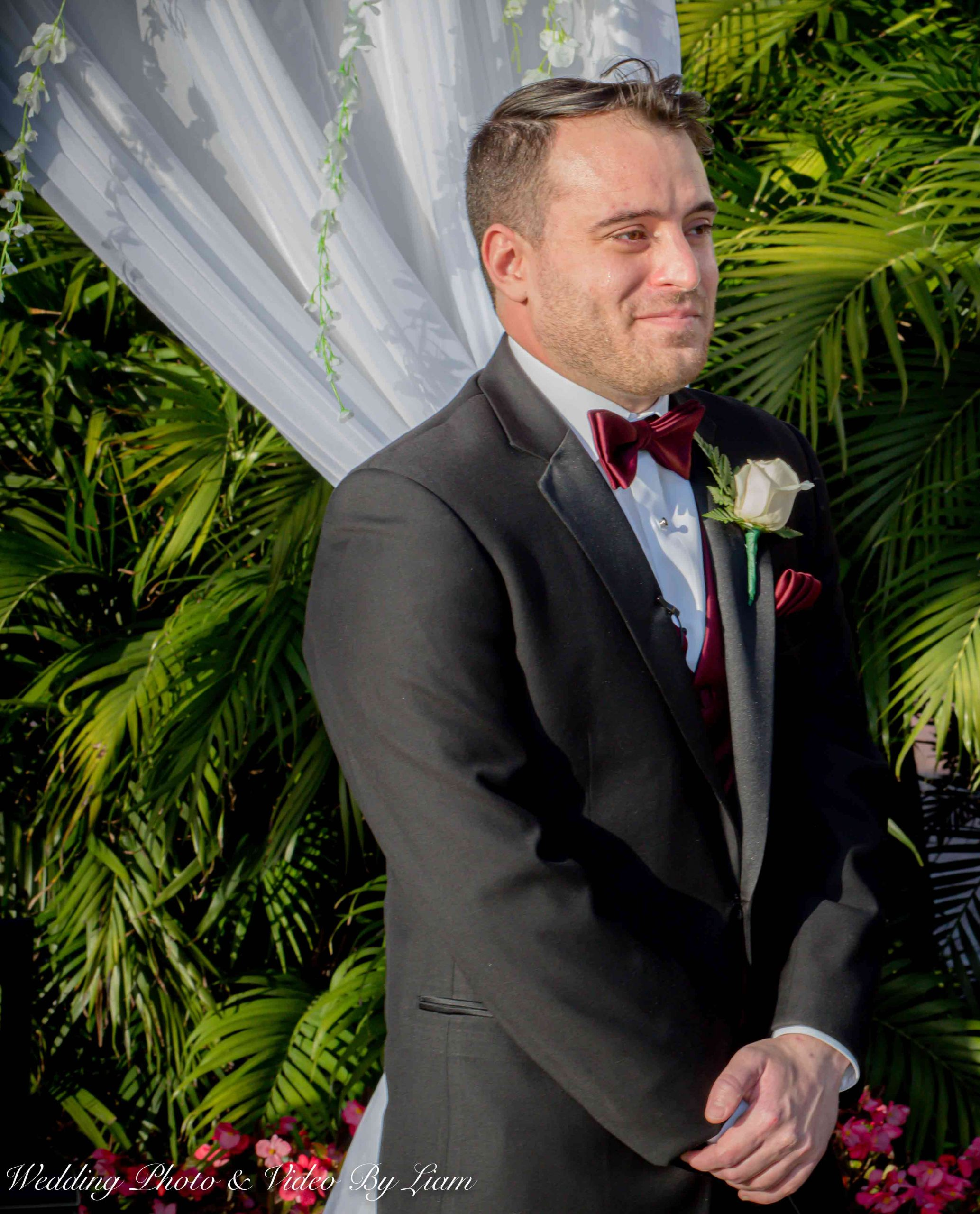Grooms Reaction to The Bride